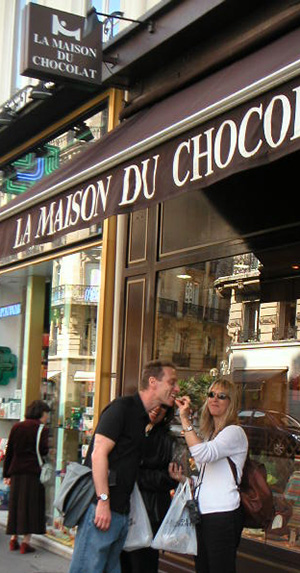 Maison Du Chocolate, Chocolate & Cashmere Tour, Paris France