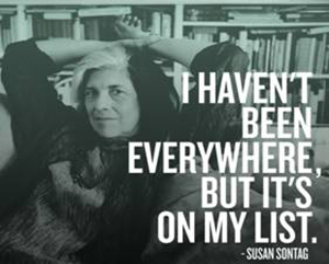 Susan Sontag on Travel