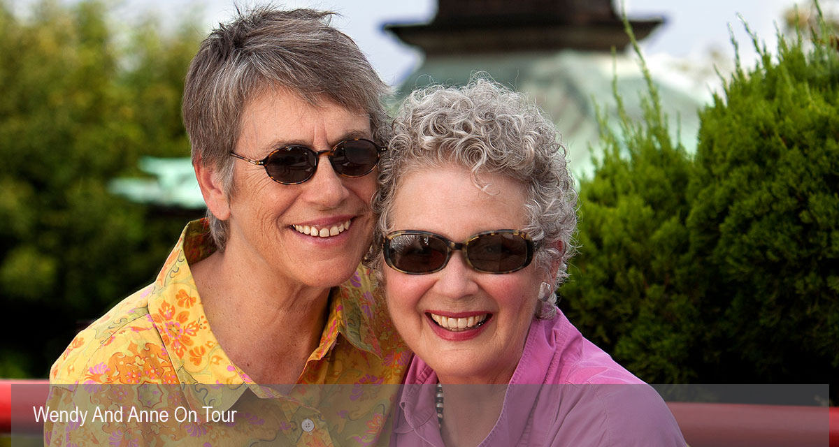 Anne Block and Wendy Dallas of LGBT Senior Tour